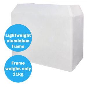 Aluminium Lightweight DJ Booth System