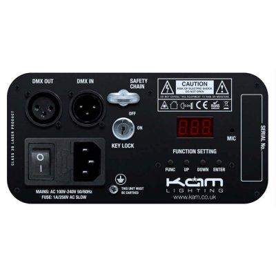 KAM iLink GBC Laser Back