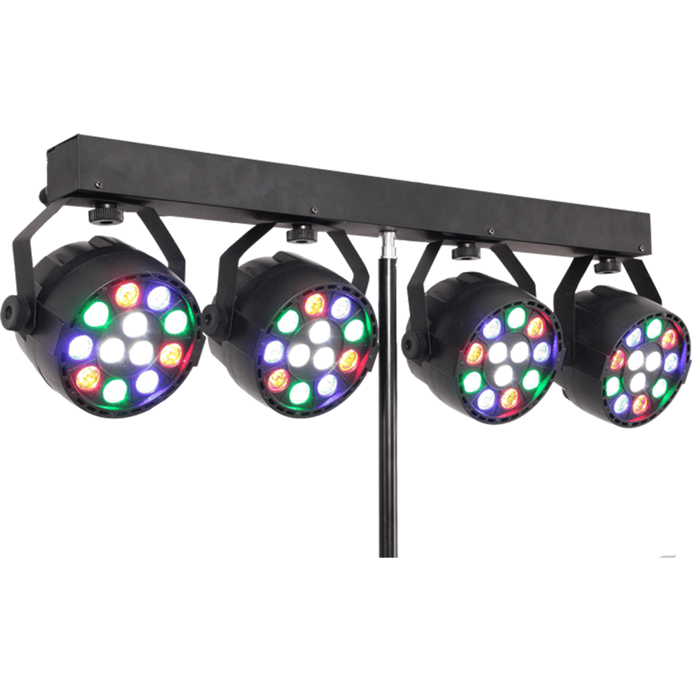 IBIZA LIGHT STAND FITTED WITH 4X 1W RGBW PAR CANS  sc 1 st  Dj Dealer & IBIZA LIGHT STAND FITTED WITH 4X 1W RGBW PAR CANS - DJ Dealer ... azcodes.com
