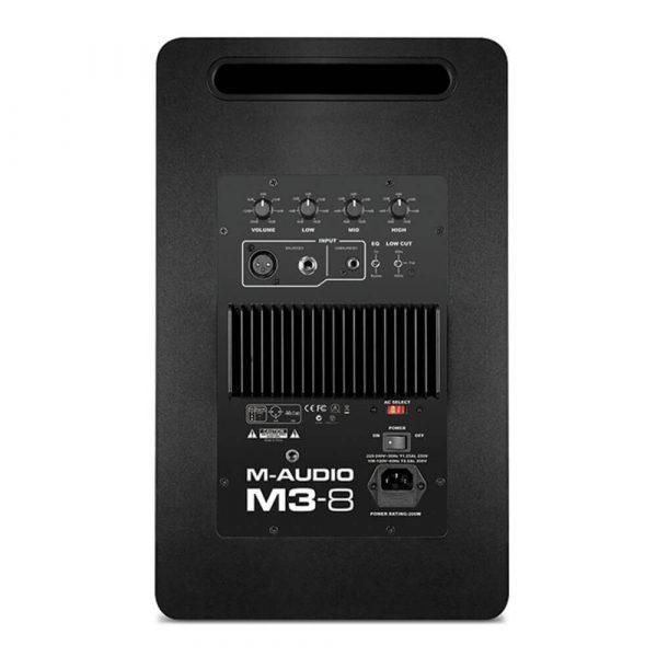M-Audio m3 Back